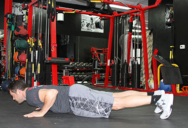 push-up with plus start