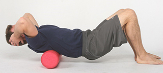 foam roll upper back