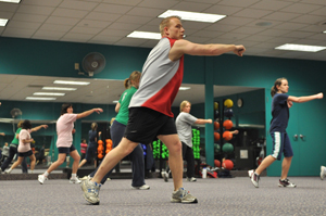 group fitness class