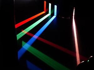 multi-colored lights