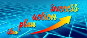 idea plans action success