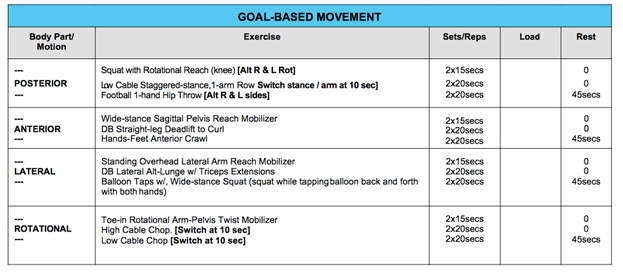 Exercise programs: exercise programs examples.